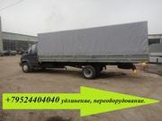 Производство фургонов на Валдай удлинение рамы